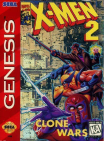X-Men 2 - Clone Wars (JEU)Rom