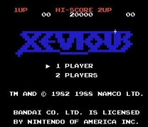 Xevious - The Avenger  ROM