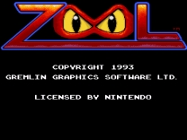Zool - Ninja of the Nth Dimension   ROM